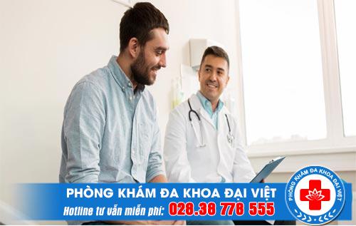 Phòng khám nam khoa Quận 1 khám bệnh ngoài giờ có bác sĩ giỏi phí rẻ