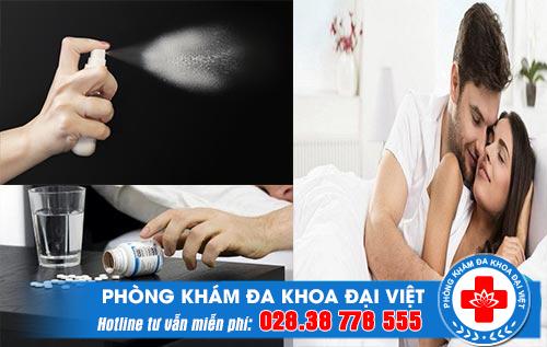 Thuốc kéo dài thời gian quan hệ con dao hai lưỡi nam giới nên cẩn thận