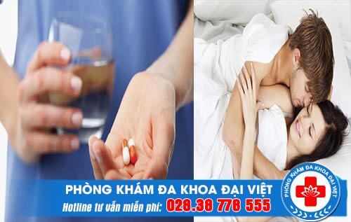 Thuốc uống kéo dài quan hệ có nguy hiểm không?