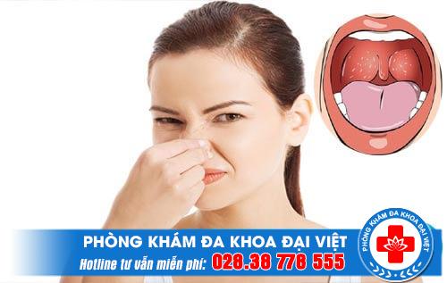 Cổ họng có mùi thối có nguy hiểm không?