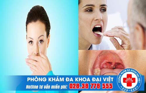 Đờm trong cổ họng có mùi hôi là bệnh gì?